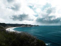 La playa #playa #Ecuador #cielo #mar #costa
