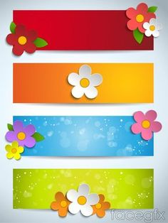 Cartoon colorful banner vector Poster Background Design, Powerpoint Background Design, Cute Spiral Notebooks, Bee Coloring Pages, Disney Frames, Boarder Designs, Cartoon Flowers, Blog Backgrounds, School Labels