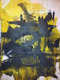 Abstracción23 - Painting ©2013 by Lola Castillejo Ribera -
