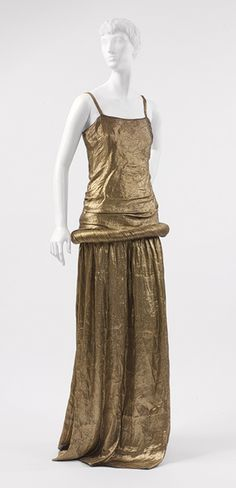 "Paul Poiret: ""Irudrée"" Dress (2007.146) | Heilbrunn Timeline of Art History | The Metropolitan Museum of Art"