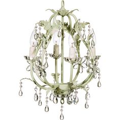 Stella Sage Chandelier : Lighting For Girls at PoshTots