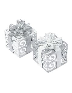Paquets Cadeaux paillettes Noël #Noel #Noel2016 #NoelArgente #decodenoel #decoargentee