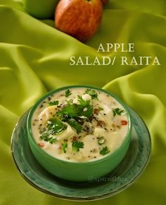 Apple Salad / Raita