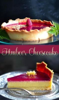 Cheesecake Tarte mit Himbeerspiegel Recipe for creamy cheesecake with a fruity raspberry mirror – raspberry cheesecake tart Caticorn Cake - The magic cat conquers all hearts - Backen The Best Chili Recipe - Dinner Recipes - Easy Recipes Creamy Cheesecake Recipe, Cheesecake Brownie, Raspberry Cheesecake, Cheesecake Recipes, Brownie Cake, Raspberry Brownies, Classic Cheesecake, Raspberry Filling, Cheesecake Bites