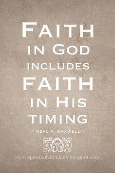 It takes Faith!!