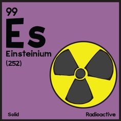 1000 images about chemistry einsteinium es 99 on for 99 periodic table