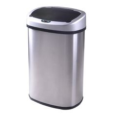 13-Gallon Touchless Trash Can : $34.99 + Free S/H (reg. $94.99)  http://www.mybargainbuddy.com/13-gallon-touchless-trash-can-34-99-free-sh