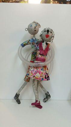 """""""Pinocchio et sa belle"""" Jacqueline décembre 2016"""