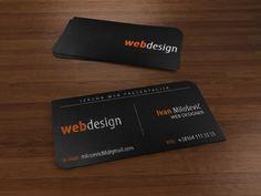Business Card - Web Design by ~ivanradosavljevic on deviantART  http://www.techirsh.com