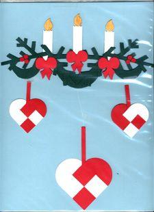 Making Danish Heart Ornaments Christmas Hearts, Christmas Books, Christmas Love, Christmas Design, Christmas Holidays, Christmas Decorations, Xmas, Christmas Ornaments, Danish Christmas