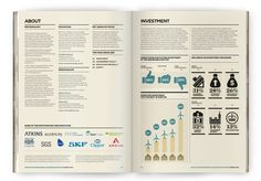 Infographic Survey: Wind and Marine Energy by The Design Surgery, via Behance