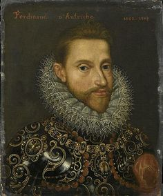 Ferdinand I Holy Roman Emperor Son of Philip I of Castile and Joanna of Castile. Husband to Anne of Bohemia and Hungry. Held at Musee Conde Adele, Joanna Of Castile, Spanish Netherlands, 17th Century Clothing, Renaissance Portraits, Holy Roman Empire, Renaissance Men, Roman Emperor, Home