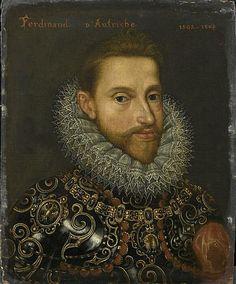 Ferdinand d'Autriche [titre inscrit], futur Ferdinand Ier de Habsbourg. Anonyme