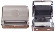 Deluxe Steel Cigarette Roller Rollbox
