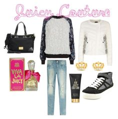 """""""Untitled #543"""" by krissybob ❤ liked on Polyvore featuring Juicy Couture"""