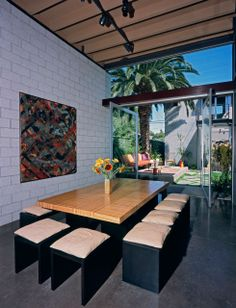 the room - The 700 Palms Residence by Ehrlich Architects