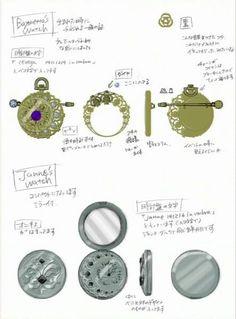 #bayonetta #concept #art Bayonetta and Jeanne's Watches