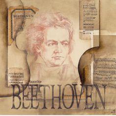 Tribute to Beethoven Kunstdruck