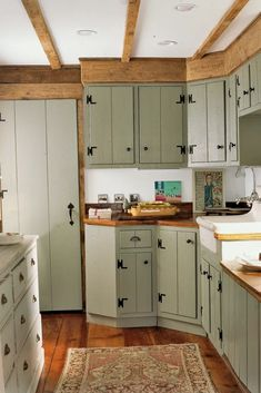 18+ These Rustic Farmhouse Kitchens Will Inspire You to Renovate Immediately #rusticfarmhouse #farmhousekitchens #kitchensideas ~ Home And Garden