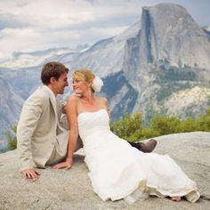Breathtaking views and sweet story in this Yosemite wedding with DIY details