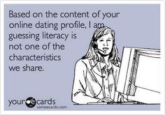Online dating is like jokes