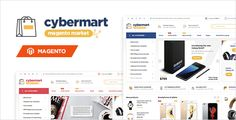 Cybermart - Responsive Magento Theme . Cybermart – is a premium responsive magento theme from Meigee suitable for any fashion