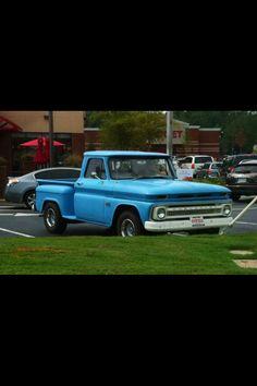 get an old truck.