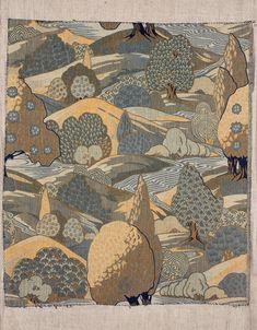 Woven textile, 73 x 64 cm, ca 1900, Museum of Decorative Arts in Prague