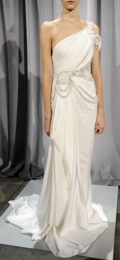 Marchesa ~ Can I have this in a light silver for my next wedding dress??  Please and thank you!!! ;)