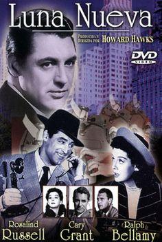 Luna nueva (1940) EEUU. Dir: Howard Hawks. Comedia. Xornalismo - DVD CINE 19 y DVD CINE 116