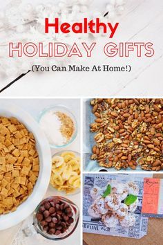DIY Healthy Holiday