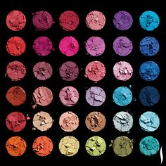 With 210 shades, MAKE UP FOR EVER's new, customizable Artist Shadows will keep you busy. #Beauty #Sephora #Eyes