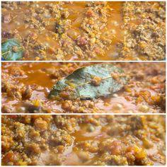 Σάλτσα Μπολονεζ 6 Bolognese, Main Dishes, Curry, Food And Drink, Ethnic Recipes, Main Course Dishes, Entrees, Kalay, Curries