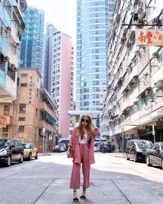 IG @viviyunn_ Travel Style, Spring Summer Fashion, Hong Kong, Street View, Instagram