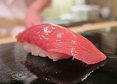 chu-toro :: Sukiyabashi Jiro, Tokyo My other favorite sushi! This one from Jiro's sushi shop in Tokyo.
