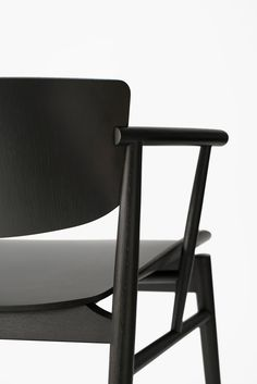 Nendo designs first entirely wooden chair for Fritz Hansen in 61 years