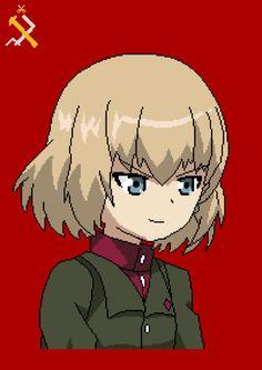 [OC][ALBUM] Katyusha Pixel Art! (Girls Und Panzer) http://ift.tt/2fgBRoO