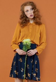 I like the mustard and navy. The tailoring is nice and it looks comfy too!