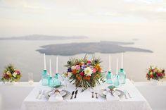 Boho Elopement in Santorini   Greece Mykonos Santorini Athens Wedding Photographer
