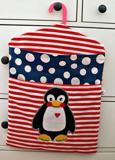 ♥ Dílna Hama ♥: Do školky s tučňáčkem ......na přání