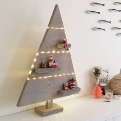 xmas - wood - christmas tree