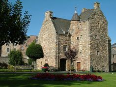 Mary Queen of Scots House, Jedburgh, Scotland -- visited by Mary Queen of Scots in October of 1566.  Photo credit: Jonathan Foyle, built.org.uk