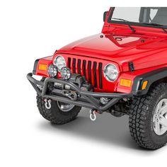 Smittybilt SRC Stinger Bumper For 87-06 Jeep TJ 04-06 Wrangler Unlimited-76521