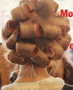 perms, rollers, etc.   frannicos   Flickr Perms, Roller Set, Pin Curls, Curlers, Hair Beauty, Hair Styles, Photos, Photography, Hair Plait Styles