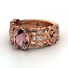 Gemvara-granite & rose gold