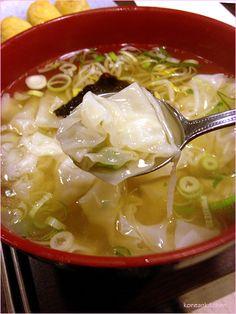 부산 완당 Busan wandang (Busan style wonton soup)