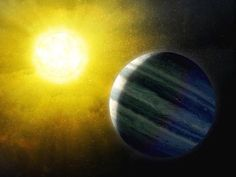 Jupiter-like exoplanets found in sweet spot in most planetary systems: Few sun-like stars have these massive planets, making our sun unusual -- ScienceDaily Physics Theories, Solar Mass, Planetary System, Gas Giant, Alien Planet, University Of Colorado, Star System, Space Telescope