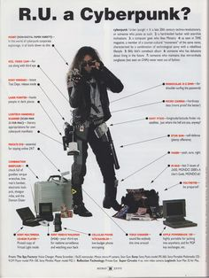 Remember the 90's? A time when apparently ever subculture could be described with just one picture.  (via Mondo 2000 - http://en.wikipedia.org/wiki/Mondo_2000)