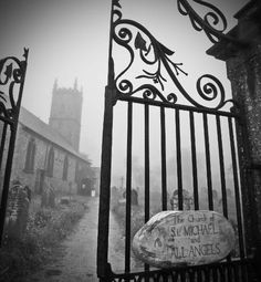 Secrets hidden in the fog of Dartmoor, England - Changes in Latitude (Image: st michaels church dartmoor) Michael Church, St Michael, Dartmoor National Park, Devon England, Legends And Myths, Local Activities, Prisoners Of War, Holiday Destinations, San Miguel