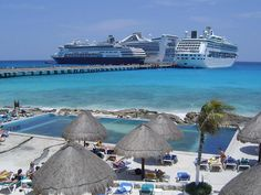 Costa Maya, Mexico.  We went on a beautiful excursion off of our Cruise ship the day we were in Costa Maya.  Lovely boating around a lake, and great food.  No chance to take pics, though!
